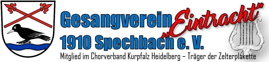 """GV """"Eintracht"""" 1910 Spechbach e. V."""